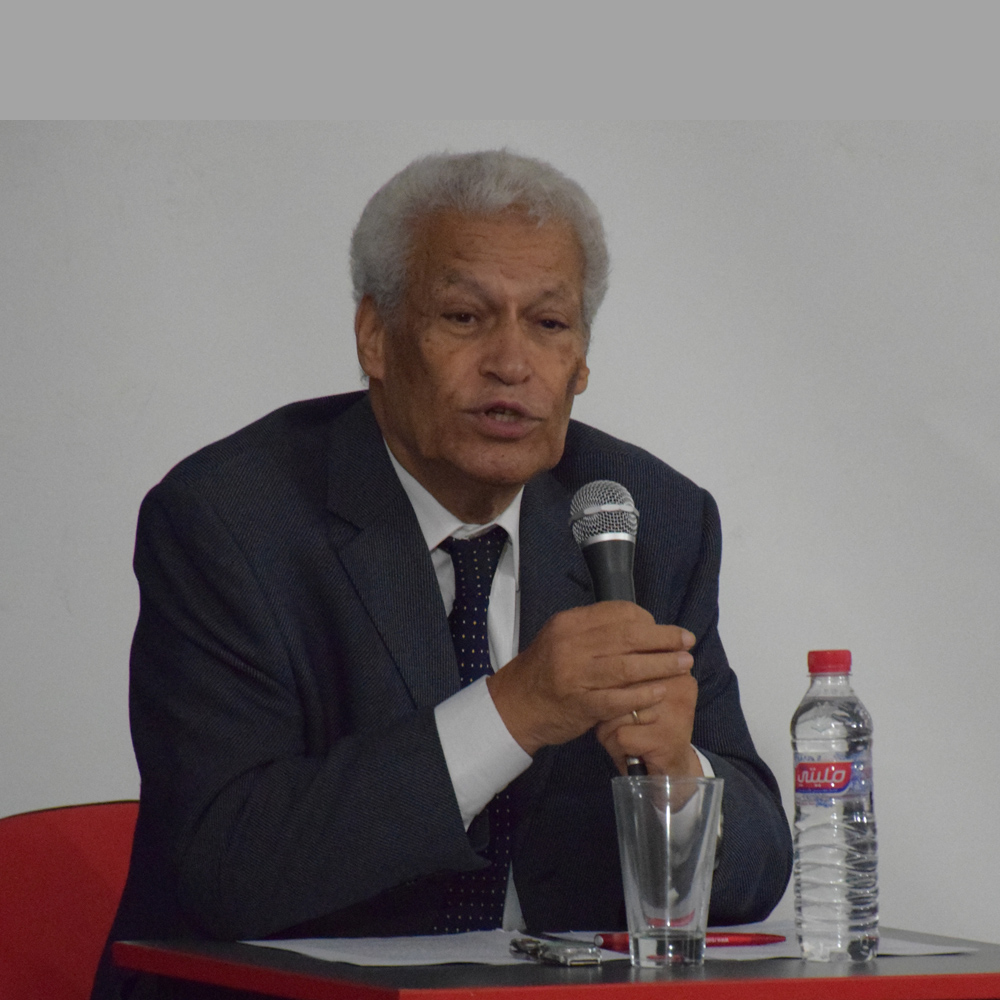 Conférence de M. Khalifa Chater