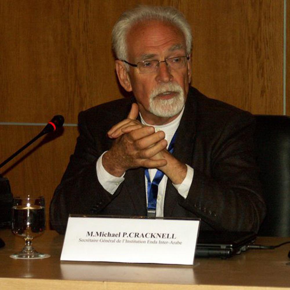 Conférence de M. Michael Cracknell