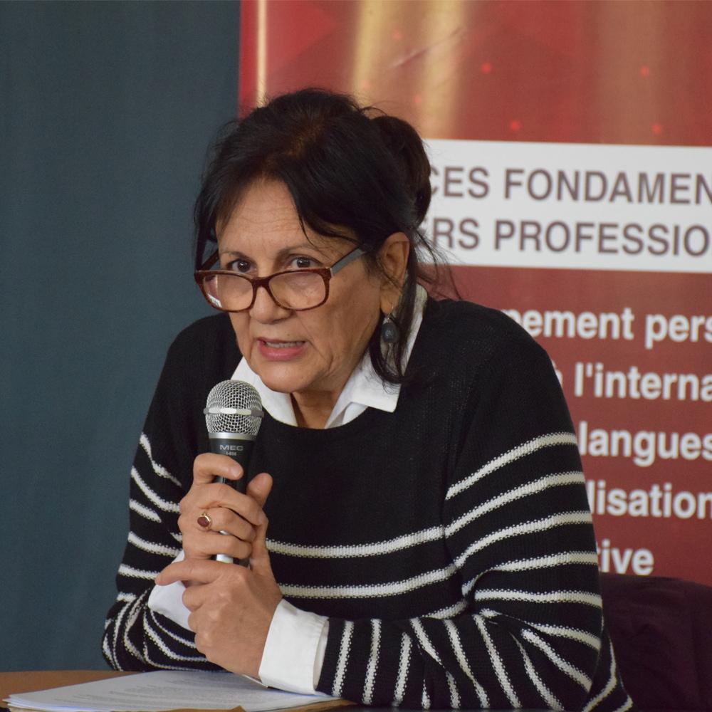 Conférence de Mme Latifa Lakhdar