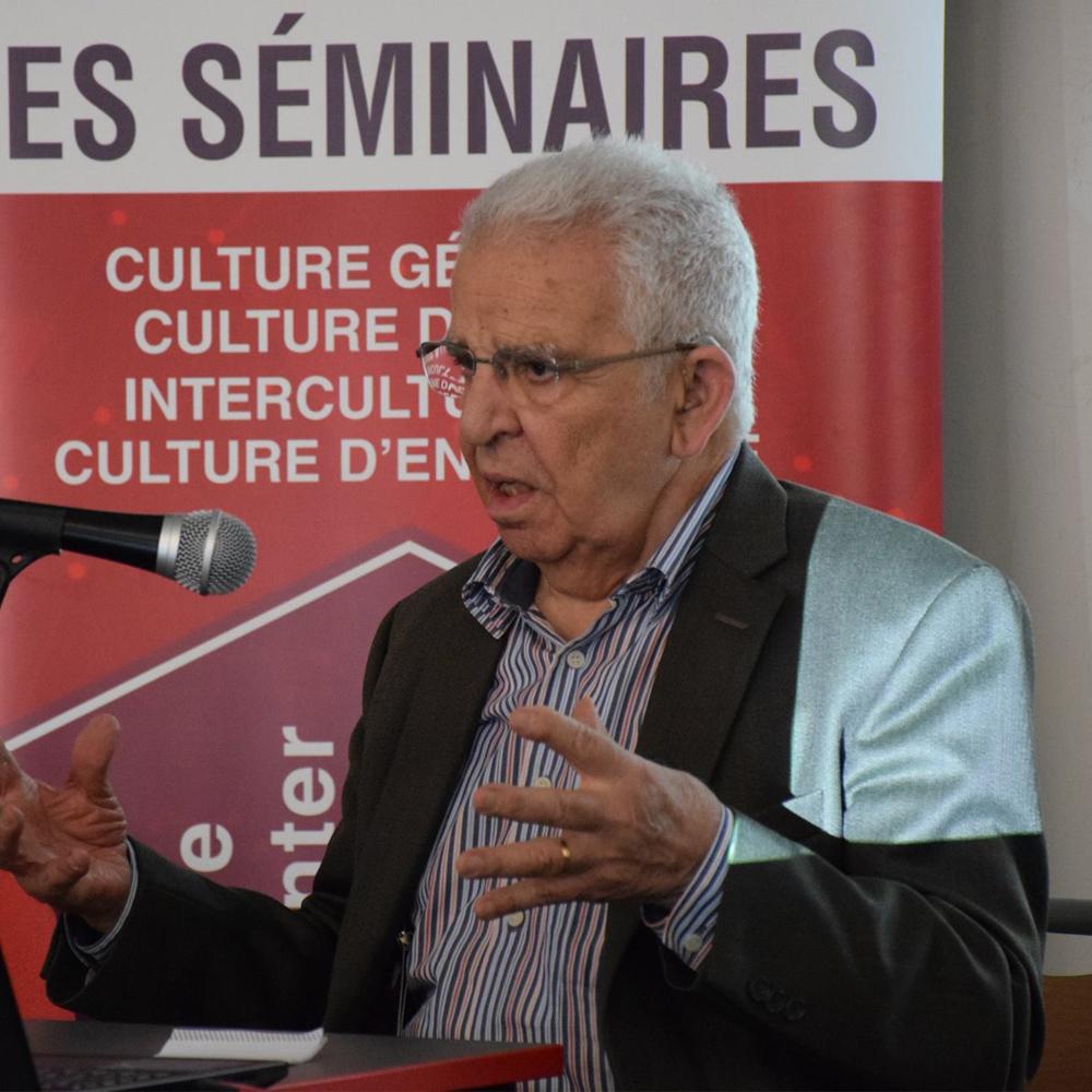 Conférence de M. Mohamed Larbi Bouguerra