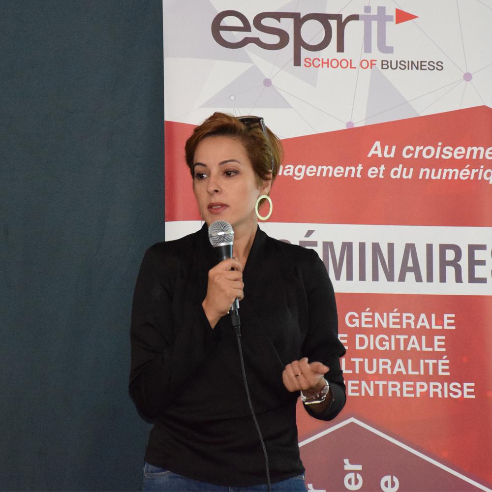 Conférence ESB de Mme Emna Jellouli