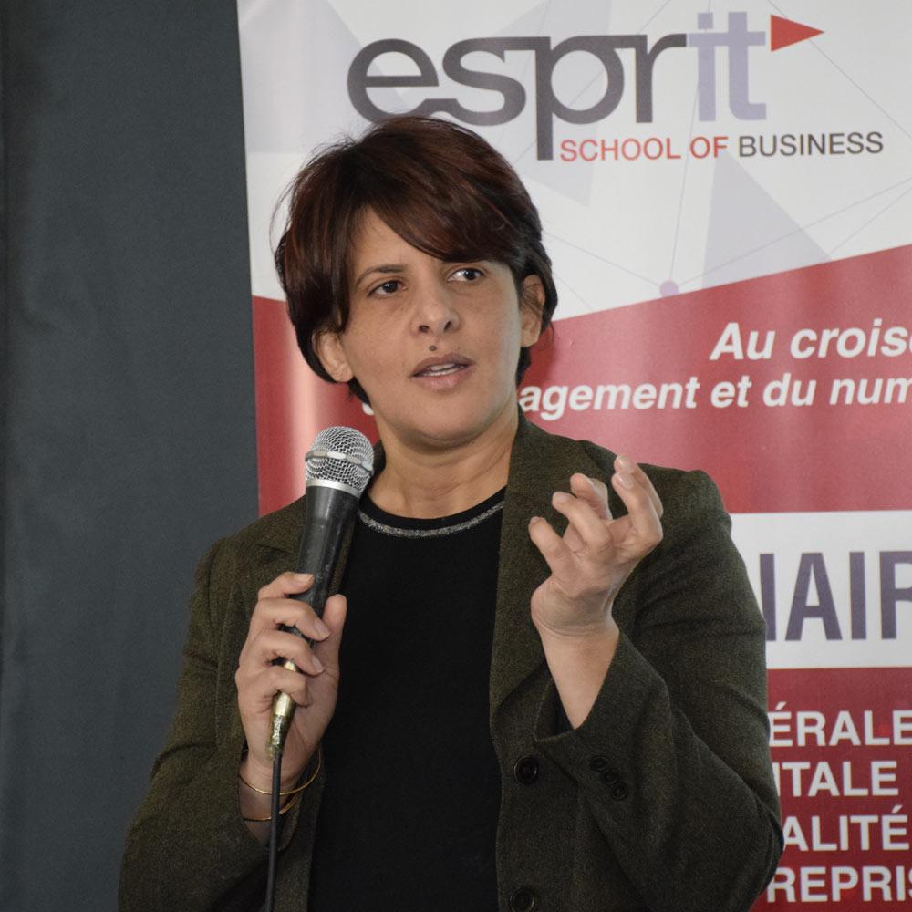 Conférence de Mme Syrine Tlili