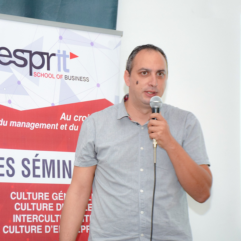 Conférence de M. Walid Aloulou